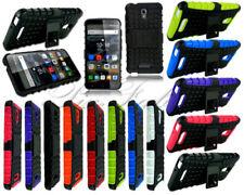 Cover e custodie neri modello Per Alcatel Pop 4 in silicone/gel/gomma per cellulari e palmari