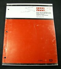 CASE 108 118  K41 Compact Tractor Rotary Lawn Mower Parts Manual Book Catalog