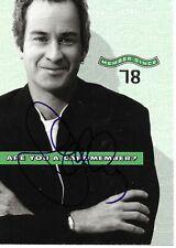 "John McEnroe Autographed 4"" X 6"" Post Card"