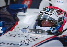 Marko Asmer Hand Signed 12x8 Photo - Formula 1 Autograph F1.