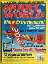 RC Model World - Radio Controlled Aircraft, February 2001 - Free Model Plan