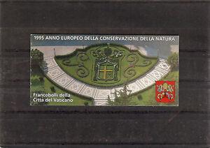 (BK05) Vatican MNH booklet : 1995   Nature Conservation booklet