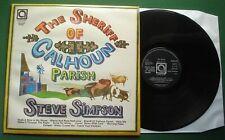 Steve Simpson Sheriff Of Calhoun Parish inc Teach Your Children + AVE 0125 LP
