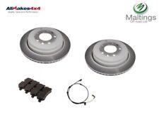 range rover sport rear brake discs and pads sdb000646 lr019627 soe000025 05-10