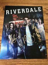 Riverdale Cast Autographed 11x14 Photo x4 KJ Lili Camila Cole