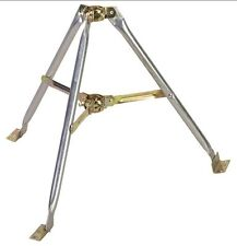 "2' FT Antenna Tripod Mount Mast Support Roof Top Off-Air Takes Up to 1.25"" OD"