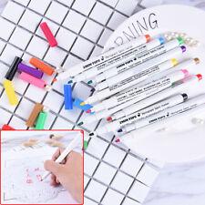 T-Shirt Permanent Fabric Paint Marker Pen Textile Clothes Shoes DIY 12 ColorHGUK