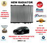 FOR PEUGEOT 307 HATCHBACK ESTATE 1.6 2.0 HDi 110 135 2003> RADIATOR OE QUALITY