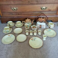 More details for vintage staffordshire keele street pottery cottage bundle collect only please