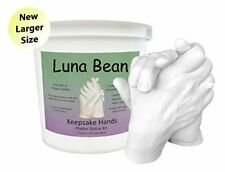 Luna Bean Keepsake Hands Plaster Statue DIY Hand Molding amp Casting Kit