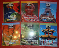 Britannica Learning Library Lot of 6- Wildlife Wonders, Europe, Asia, Africa