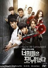 You're All Surrounded Korean Drama (5DVDs) Excellent English & Quality!