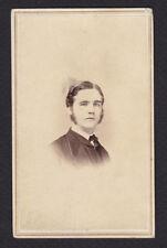 CDV-John W Ambrose-New York City-J Wood-Bowery-1860's-Cartes de Visite-Photo
