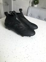 Adidas Ace 17+ Purecontrol FG Football Boots Core Black UK 6 Laceless Sock Boots