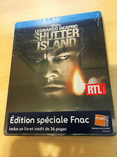 Shutter Island Blu-ray Steelbook w/ 36 page booklet | French FNAC exclusive NEW