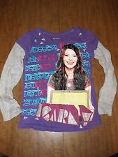 ICARLY girls small tee Miranda Cosgrove longsleeves T shirt Nickelodeon size 7-8