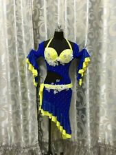 Baladi falahi Dress Belly Dance Costume made any color