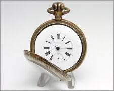 Ticking! Antique 1876 Longines CROSS & BEGUELIN - CENTENNIAL Heavy Pocket Watch