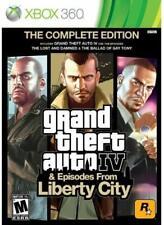 GTA 4 & Liberty City 2 CD pour console Xbox 360, jeu vendu en loose