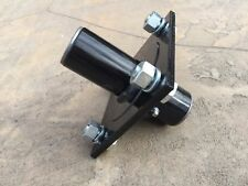 "Tail Wheel Hub Rotary Cutter 4 Bolt Hole 1"" Shaft Bush Hog Universal Fit"