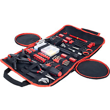 Tool Kit 86 Piece Set Household,Car,Office Essentials Compact Basic Home Repairs
