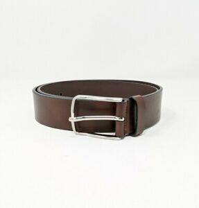 """Allen Edmonds """"BROADWAY AVE"""" Chili Colored Casual Belt 39616 Size 34 NWT"""