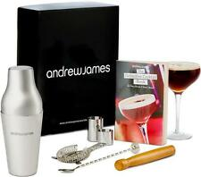 Andrew James Cocktail Shaker Set 8 Piece Parisian Cocktail Gift Accessories