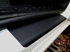 Vauxhall Combo D Door Sill / Kick Panel Scuff Protectors (Pair) Black Textured