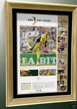 Signed Cricket Memorabilia Prints Shane Warne