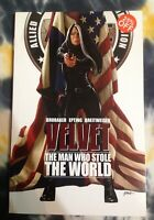 VELVET The Man Who Stole the World / Image Comics - Graphic Novel TPB - NEW
