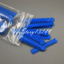 Dental Orthodontics Elastic Elastomeric Blue Color Ligature Ties 1008 Pcs Sales