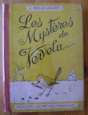 BOURLIAGUET - Le mystère du Vervelu - Nouvelles presses françaises 1946