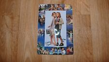 USED Mary-Kate & Ashley Olsen Billboard Dad Movie Memorabilia Picture in Frame