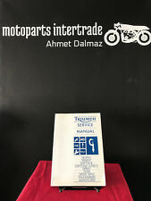 TRIUMPH SERVICE MANUAL REPARATURANLEITUNG TROPHY DAYTONA SPRINT TIGER SPEED  EN