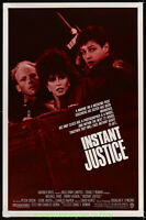 INSTANT JUSTICE aka MARINE ISSUE movie poster Original 27x40 Tawny Kitaen 1986