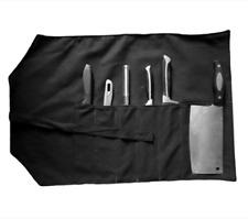 6 Pocket Japanese Chef Knife Roll Bag Chopping Cleaver Knife Roll Carry Case Bag