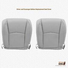 2007 2008 Lexus RX330 RX350 RX400 Driver-Passenger Bottom Gray Leather Cover