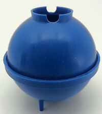 Round ball plastic candle mould. Make sphere candles includes stick peg & putty