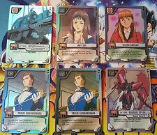 Gundam War Card Game Lot Bandai 2001 100+ Card lot for Beginner Players