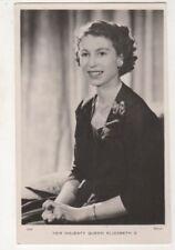 Queen Elizabeth II Vintage Tuck RP Postcard Royalty 709b