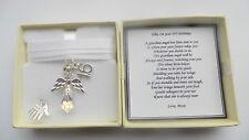 18th Birthday Gift Guardian Angel Personalised keepsake present MEMORY BOX