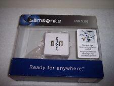 Samsonite USB Cube~Brand New in Box