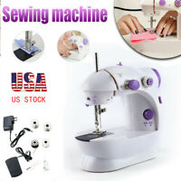 2 Speed Portable Desktop Mini Electric Sewing Machine Hand Held Household Tailor