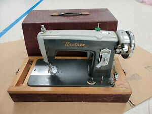 Vintage Brother Sewing Machine -- Missing Pedal/power lead. 100%Untested.
