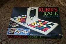 RUBIK'S CUBE RACE GAME 100% COMPLETE 1982 vintage Ideal