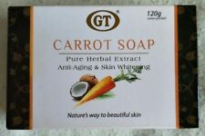 GT Carrot Soap Pure Herbal Extract Anti-aging & Skin Whitening 120grams