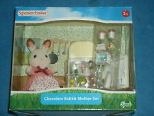 Sylvanian Families: Chocolate Rabbit Mother Set For Ages 3+    (Sealed) 2014