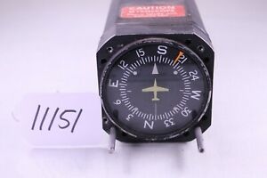 (11151)Aviation Instruments G-502A P/N 40760-0104 Directional Gyro (Untested)