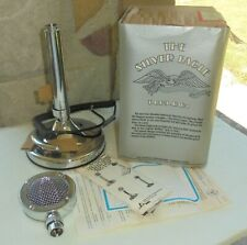 RARE NOS ASTATIC T-UP9-D104 SILVER EAGLE AMPLIFIED DESK CB RADIO MICROPHONE~ NEW