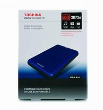 Toshiba 500 GB Portable External Hard Drive E05A050DAU2XM